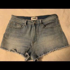 🔥 Victoria secrets PINK! Denim shorts